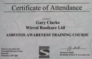 Asbestos Awareness Qualifications