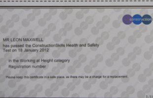 CSCS – Health & Safety Qualifications