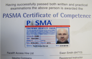 PASMA Qualifications