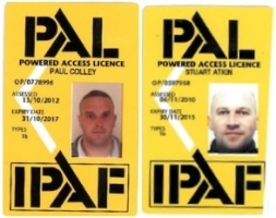 IPAF Qualifications