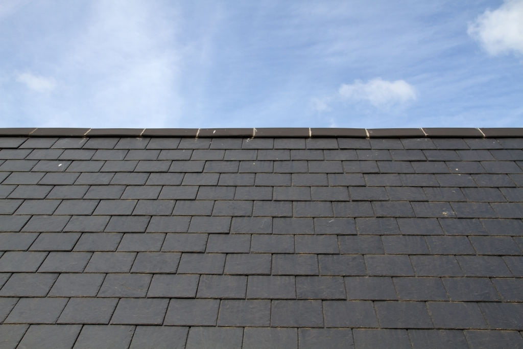 well maintained slate roof